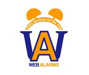 Logo for WebAlarms - Alert services on the web - Entry #94