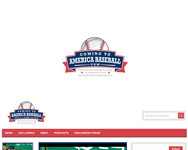 ComingToAmericaBaseball.com Logo - Entry #35
