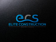 Elite Construction Services or ECS Logo - Entry #346