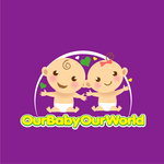 Logo for our Baby product store - Our Baby Our World - Entry #105