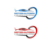 Motion AutoSpa Logo - Entry #229
