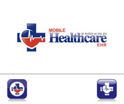 Mobile Healthcare EHR Logo - Entry #118