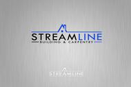 STREAMLINE building & carpentry Logo - Entry #157