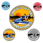 Chicago Jet Ski Adventures Logo - Entry #25