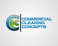 Commercial Cleaning Concepts Logo - Entry #15