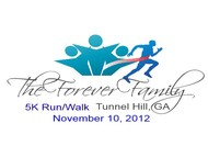 The Forever Family 5K Logo - Entry #26