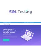 SQL Testing Logo - Entry #392