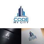 Code My City Logo - Entry #35
