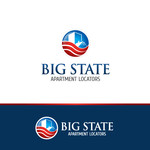 Big State Apartment Locators Logo - Entry #52