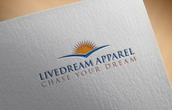 LiveDream Apparel Logo - Entry #5