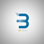 B3 Tech Logo - Entry #144