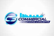 Commercial Cleaning Concepts Logo - Entry #91