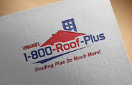 1-800-Roof-Plus Logo - Entry #141