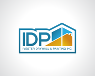 IVESTER DRYWALL & PAINTING, INC. Logo - Entry #26