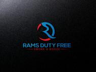 Rams Duty Free + Smoke & Booze Logo - Entry #62