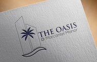 The Oasis @ Marcantel Manor Logo - Entry #36