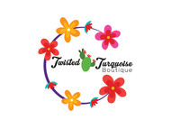 Twisted Turquoise Boutique Logo - Entry #164