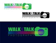 Walk and Talk Photography - logo and business card - Entry #114