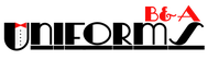 B&A Uniforms Logo - Entry #133