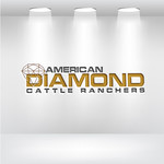 American Diamond Cattle Ranchers Logo - Entry #106