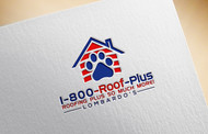 1-800-Roof-Plus Logo - Entry #136