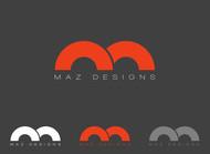 Maz Designs Logo - Entry #332