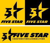 Five Star Logo - Entry #79