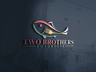 Two Brothers Roadhouse Logo - Entry #138