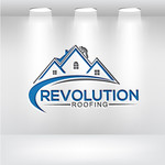 Revolution Roofing Logo - Entry #73