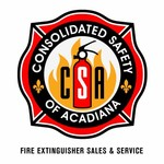 Consolidated Safety of Acadiana / Fire Extinguisher Sales & Service Logo - Entry #27