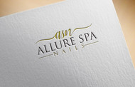 Allure Spa Nails Logo - Entry #71