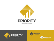 Priority Building Group Logo - Entry #178