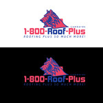 1-800-Roof-Plus Logo - Entry #35