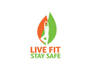 Live Fit Stay Safe Logo - Entry #88