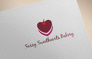 Sassy Sweethearts Bakery Logo - Entry #7