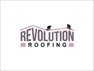 Revolution Roofing Logo - Entry #501
