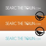 search the town .com     or     djsheil.com Logo - Entry #7
