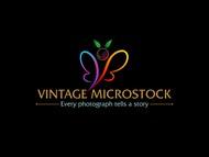 Vintage Microstock Logo - Entry #91