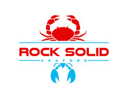 Rock Solid Seafood Logo - Entry #142
