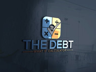 The Debt What If Calculator Logo - Entry #135