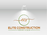Elite Construction Services or ECS Logo - Entry #280