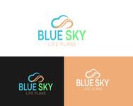 Blue Sky Life Plans Logo - Entry #28