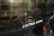 Black umbrella coffee & cocktail lounge Logo - Entry #160