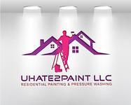 uHate2Paint LLC Logo - Entry #30
