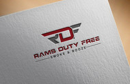 Rams Duty Free + Smoke & Booze Logo - Entry #184
