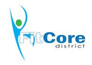 FitCore District Logo - Entry #40