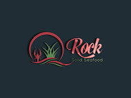 Rock Solid Seafood Logo - Entry #9