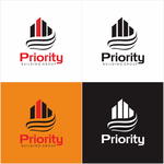 Priority Building Group Logo - Entry #47