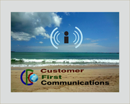Customer First Communications Logo - Entry #64