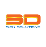 3D Sign Solutions Logo - Entry #48